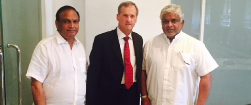 Brother branco met shipping/ports minister to discuses ratification of MLC